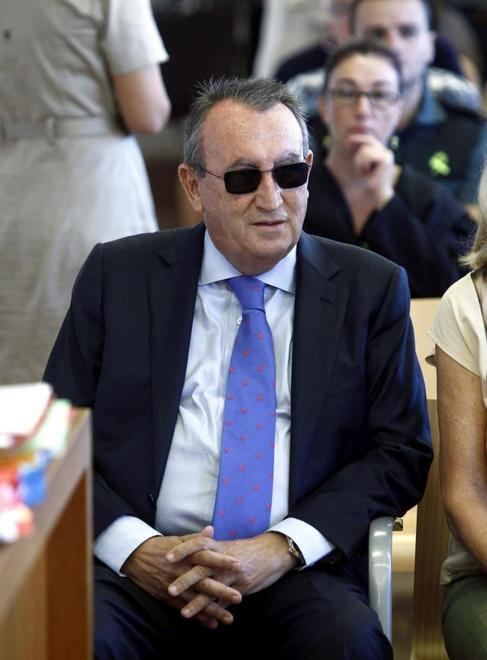 Carlos Fabra, durante el juicio en la Audiencia de Castellón.