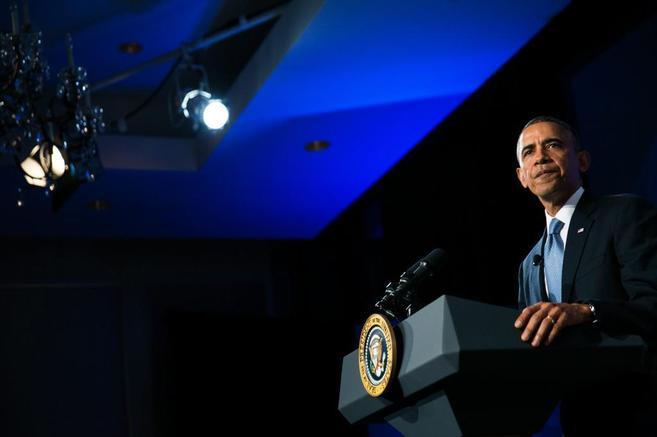 El presidente de EEUU defiende su reforma migratoria en un foro en el...