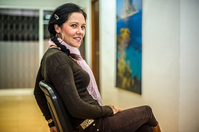 María José López Armesto, portavoz de la Cooperativa de...