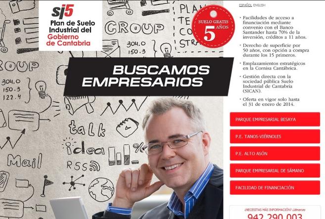 Imagen de la promoción del Gobierno de Cantabria.