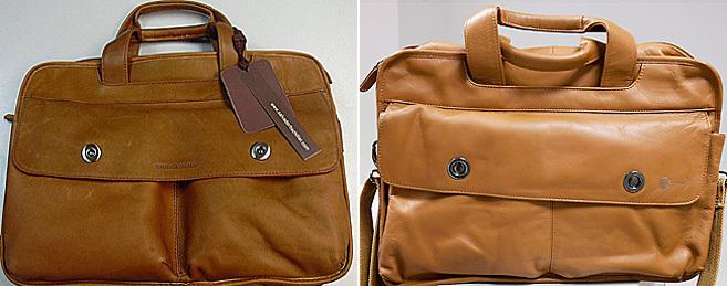 Izquierda: maletín de Salvador Bachiller?derecha: maletín...