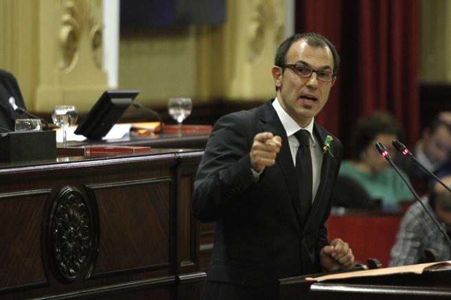 Intervención de Biel Barceló durante el debate sobre el estado de la...