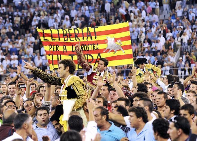 Última tarde de la Monumental de Barcelona el 25 de septiembre de...