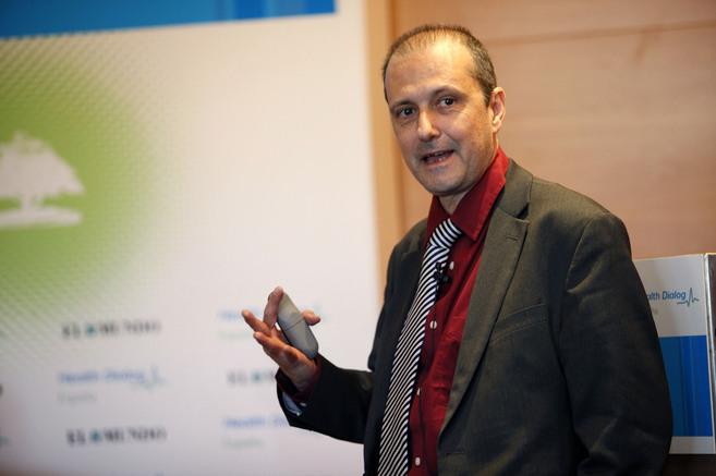 Jovell durante una intervención en 2010