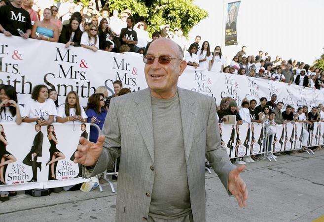 Amon Milchan durante la premiere de 'Mr. and Mrs. Smith'.