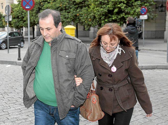 Los imputados Manuel Granado y su mujer Florencia Romero.