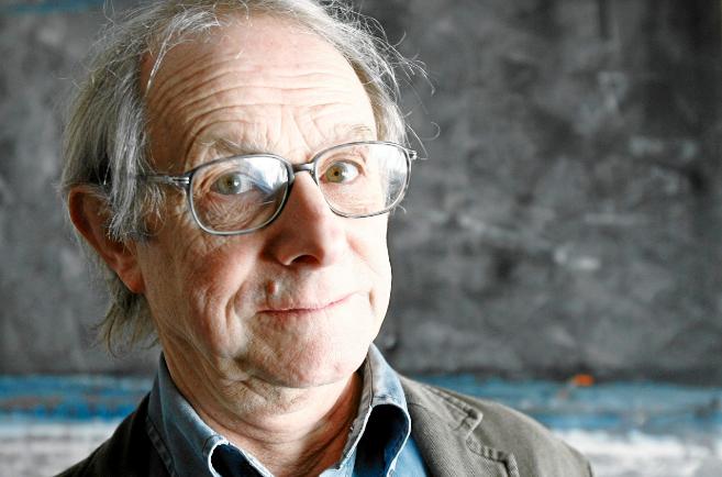 El director de cine y televisión británico Ken Loach.