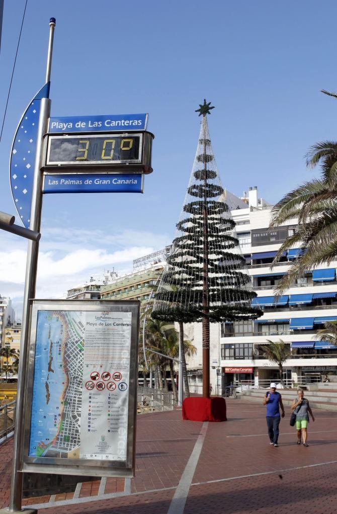 Espana Entre El Otono Y El Invierno Canarias Un Termometro Marca Espana El Mundo Questi dispositivi si caratterizzano per la. invierno canarias