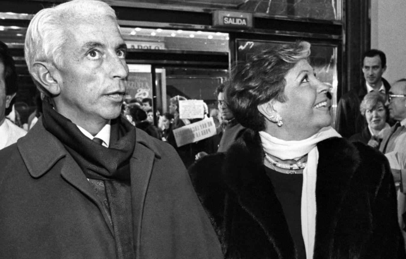 Lina Morgan junto a su hermano José Luis
