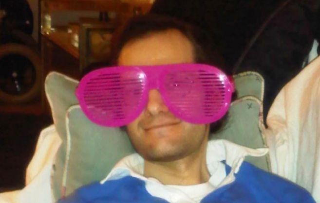 Una imagen de Rafa, que tenía esclerosis lateral amiotrófica, cedida...