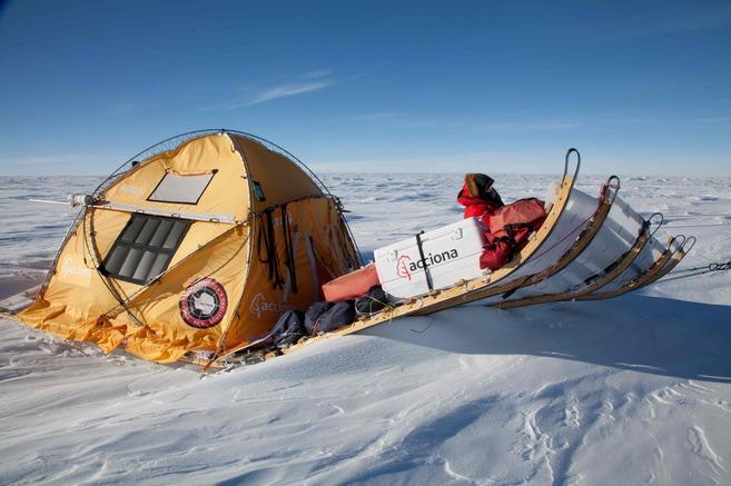 Expedición a la Antártida con el primer modelo del...