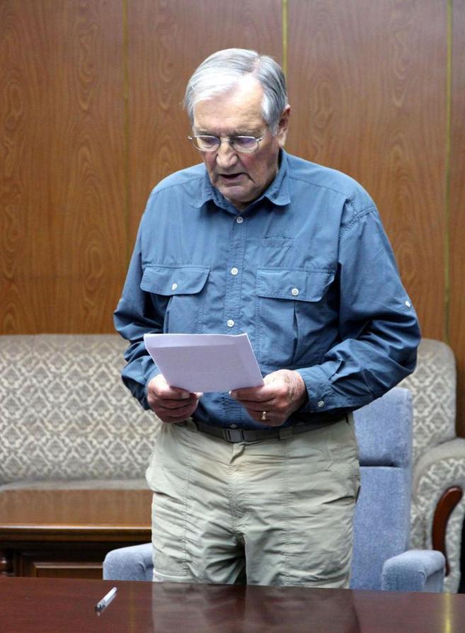 Newman, durante el 'juicio' en su contra celebrado en...