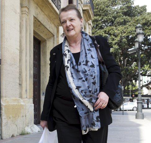 La intendente sale del TSJ tras declarar ante el juez de Gürtel.