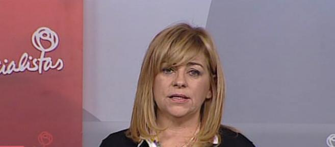 Rueda de prensa de Elena Valenciano.