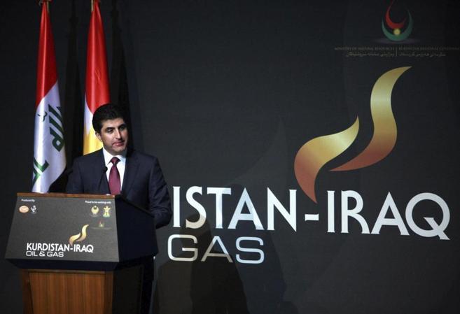 El primer ministro del gobierno regional del Kurdistán, Nechirvan...