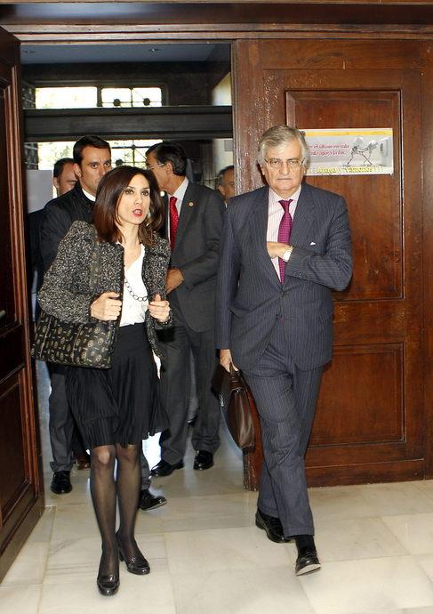 El fiscal general del Estado, Eduardo Torres-Dulce en Zaragoza.