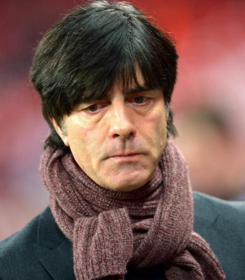 El entrenador de Alemania, Joachim Löw.
