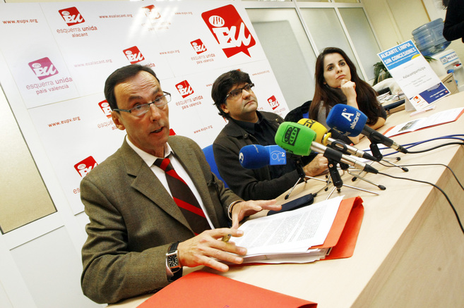 José Luis Romero,  Miguel Ángel Pavón y  Esther López Barceló,...