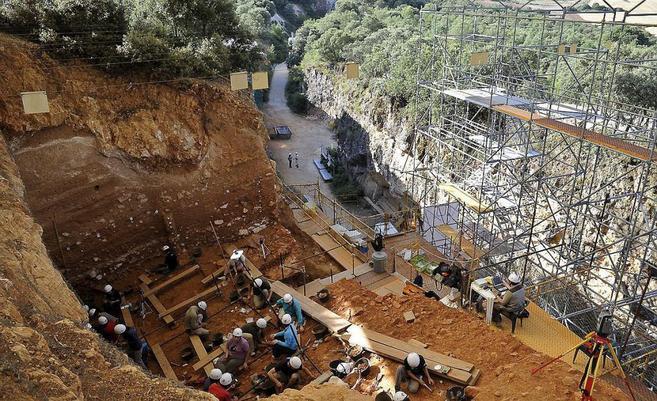 Resultado de imagen de Yacimiento de Atapuerca