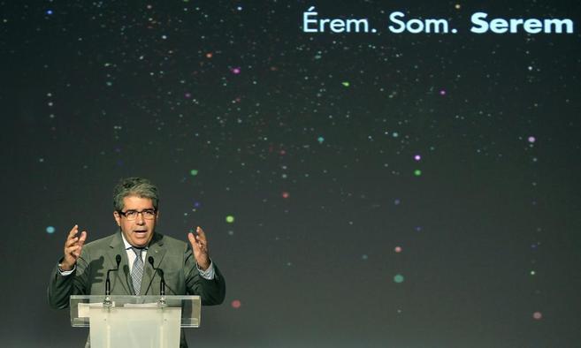 Francesc Homs, 'conseller' de Presidencia de la Generalitat,...