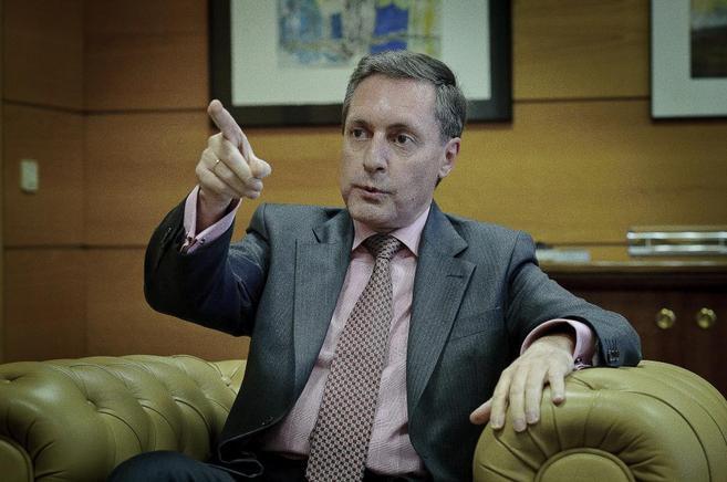 El director de la Agencia Tributaria, Santiago Menéndez, durante una...