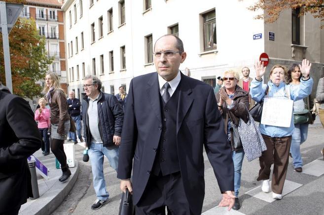 El juez Elpidio Silva.