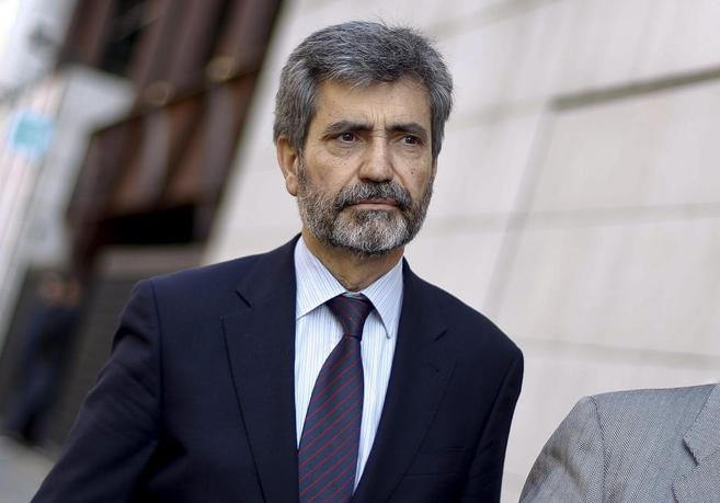 El magistrado Carlos Lesmes