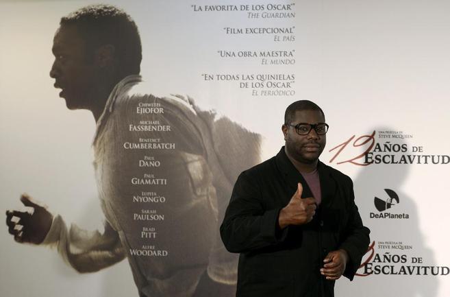 Steve McQueen, director de '12 años de esclavitud', en la...