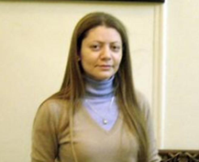 La activista Razan Zeituneh en marzo del año 2011.