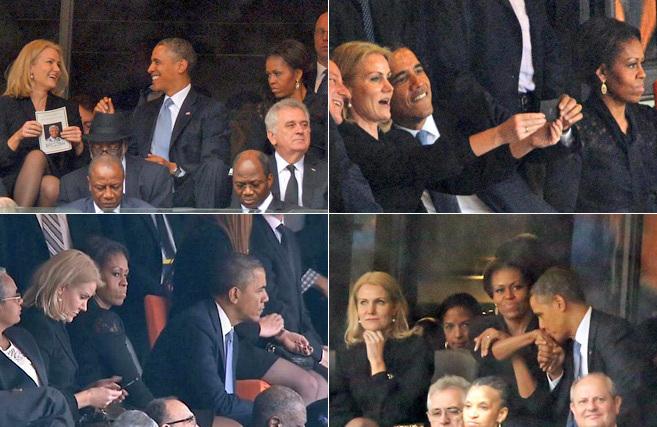 La conversación de la primer ministra danesa con Obama ante la severa...