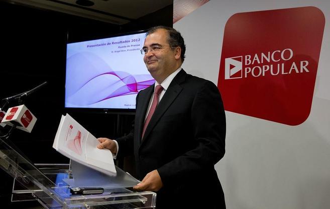 El presidente del Banco Popular, Ángel Ron.