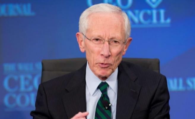 Stanley Fischer durante una conferencia en Washington el pasado...