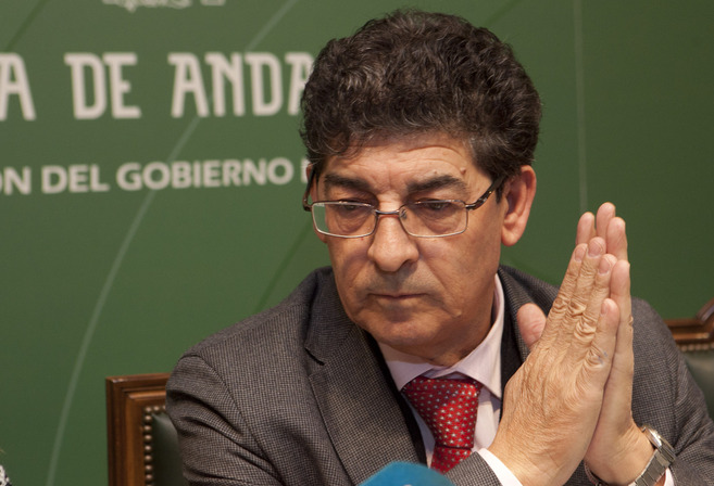 El vicepresidente de la Junta, Diego Valderas, este viernes en...