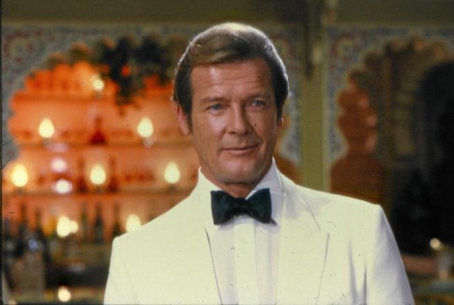 Rooger Moore fue una de las caras de James Bond en el cine.