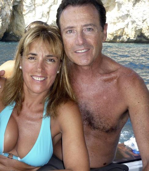 La ex pareja de periodistas cuando aún no salían juntos y navegaban...