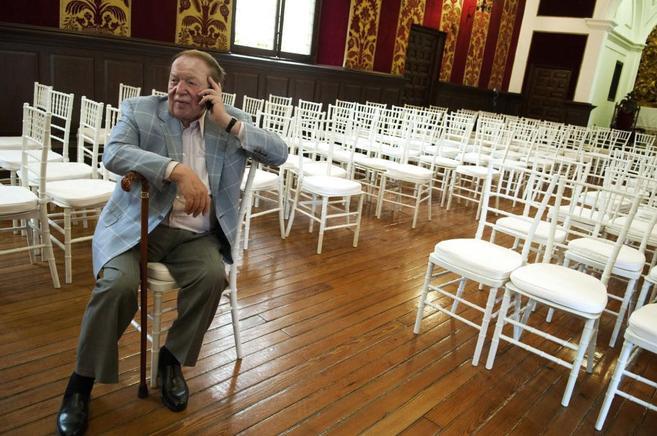 El magnate Sheldon Adelson, en una imagen de archivo.