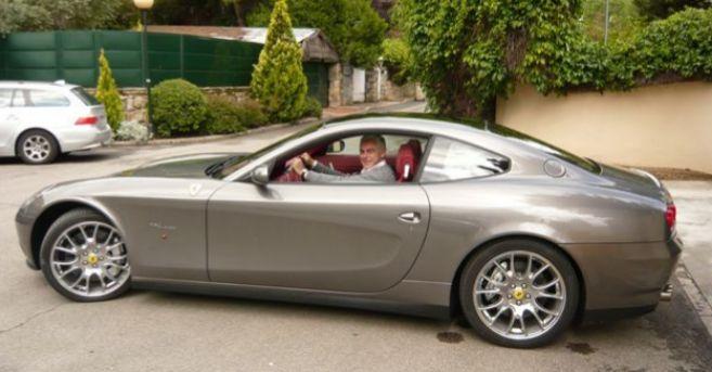 El sobrino de Miguel Blesa conduciendo el Ferrari del ex presidente de...