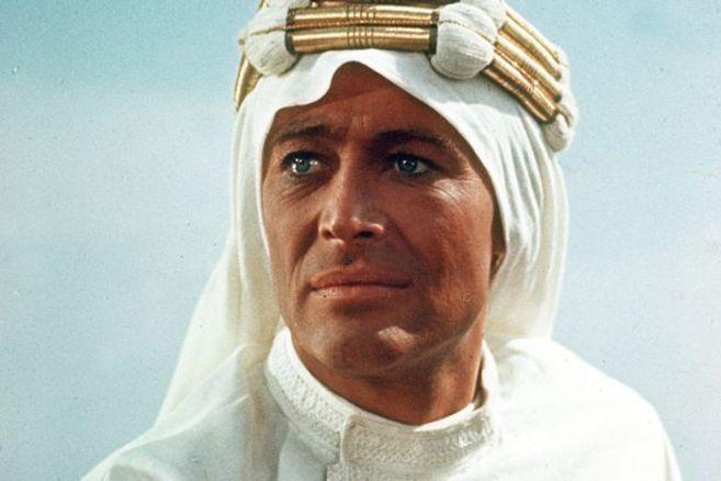 El actor Peter O'Toole en 'Lawrence de Arabia'.