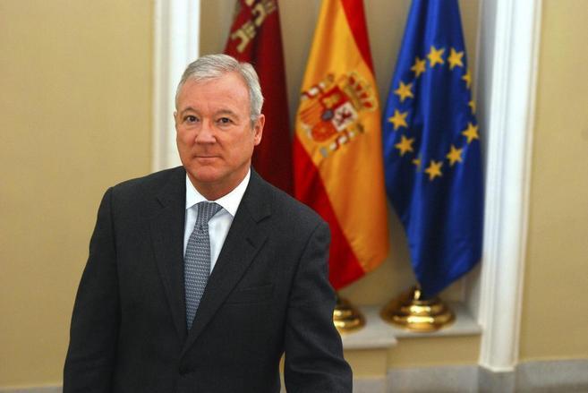 El presidente de Murcia, Ramón Luis Valcárcel