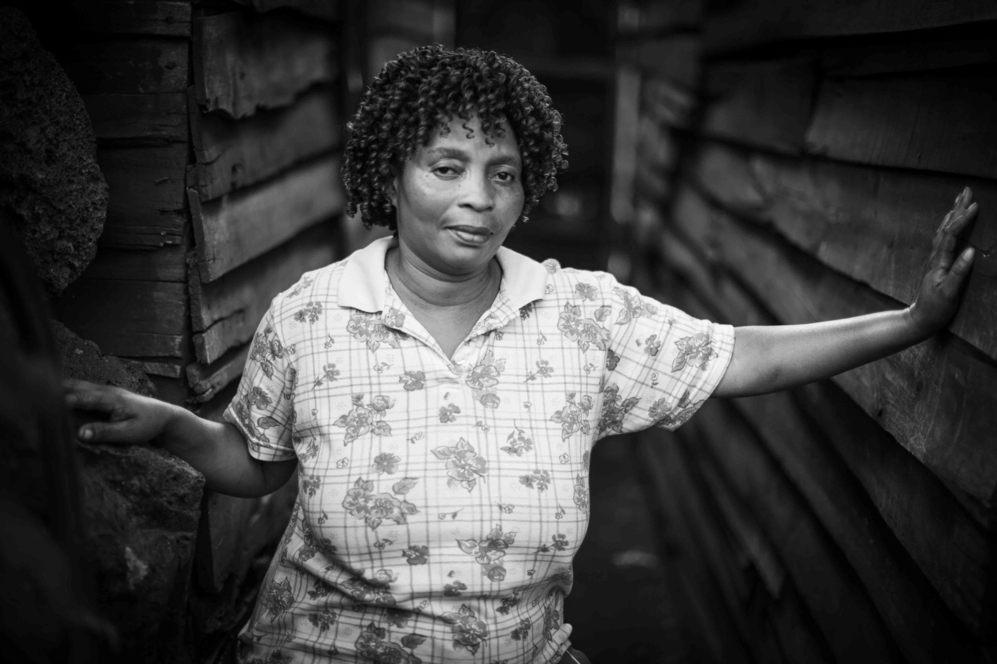 Faida, prostituta y fundadora de la asociación de meretrices de Goma...