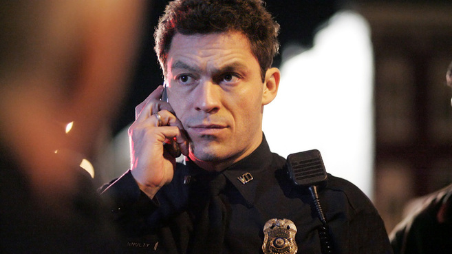 Imagen de Jimmy McNulty (interpretado por el actor Dominic West) en la...