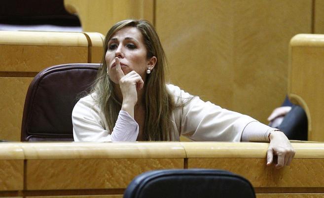 La líder del PP en Cataluña, Alicia Sánchez-Camacho.
