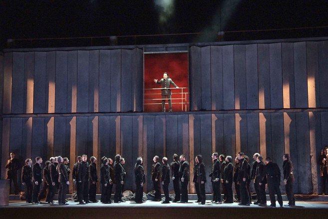 Ensayo de una de las óperas que se contrató de forma irregular.