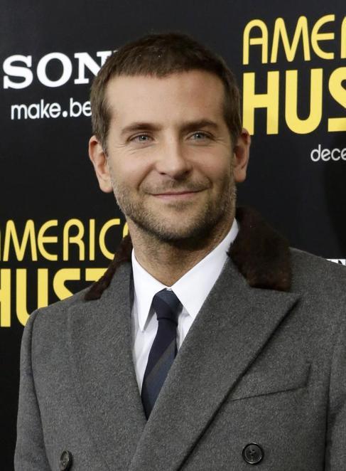 Bradley Cooper, en la presentación de 'American Hustle'.