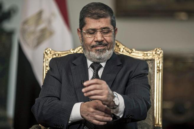 El depuesto presidente egipcio Mohamed Mursi.
