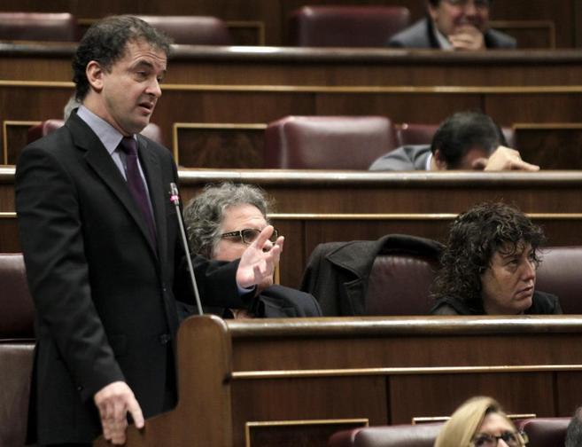 Alfred Bosch, en la sesión de control al Gobierno del pasado...