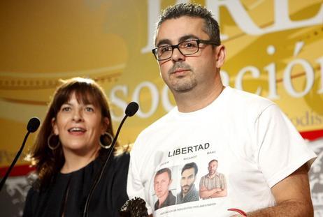 Antonio Montilla, en la cena de la Asociación de Periodistas...
