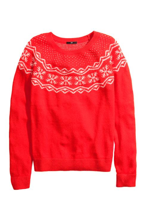 Típicamente navideño, de H&M (19,95 euros).
