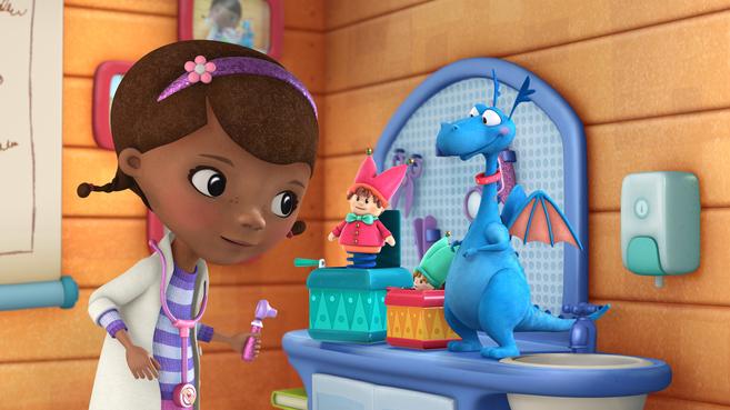 'Doctora Juguetes', una de las serie de Disney Junior.