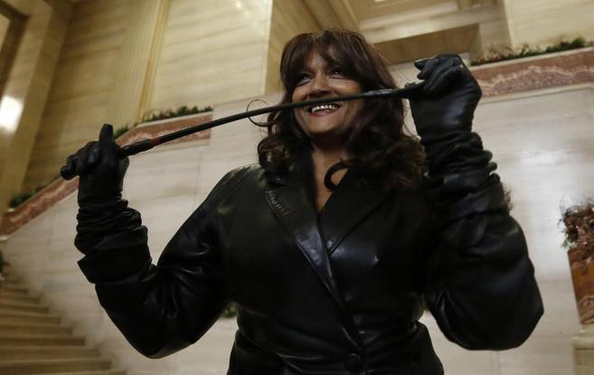 La dominatrix canadiense Terri-Jean Bedford.